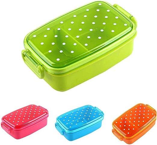 Dot portátil caja de almuerzo para niños almuerzo cajas de frutas ...