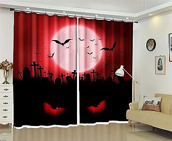 Dbtxwd Blackout Vorhänge Schlafzimmer Fenster Behandlung Drapieren
