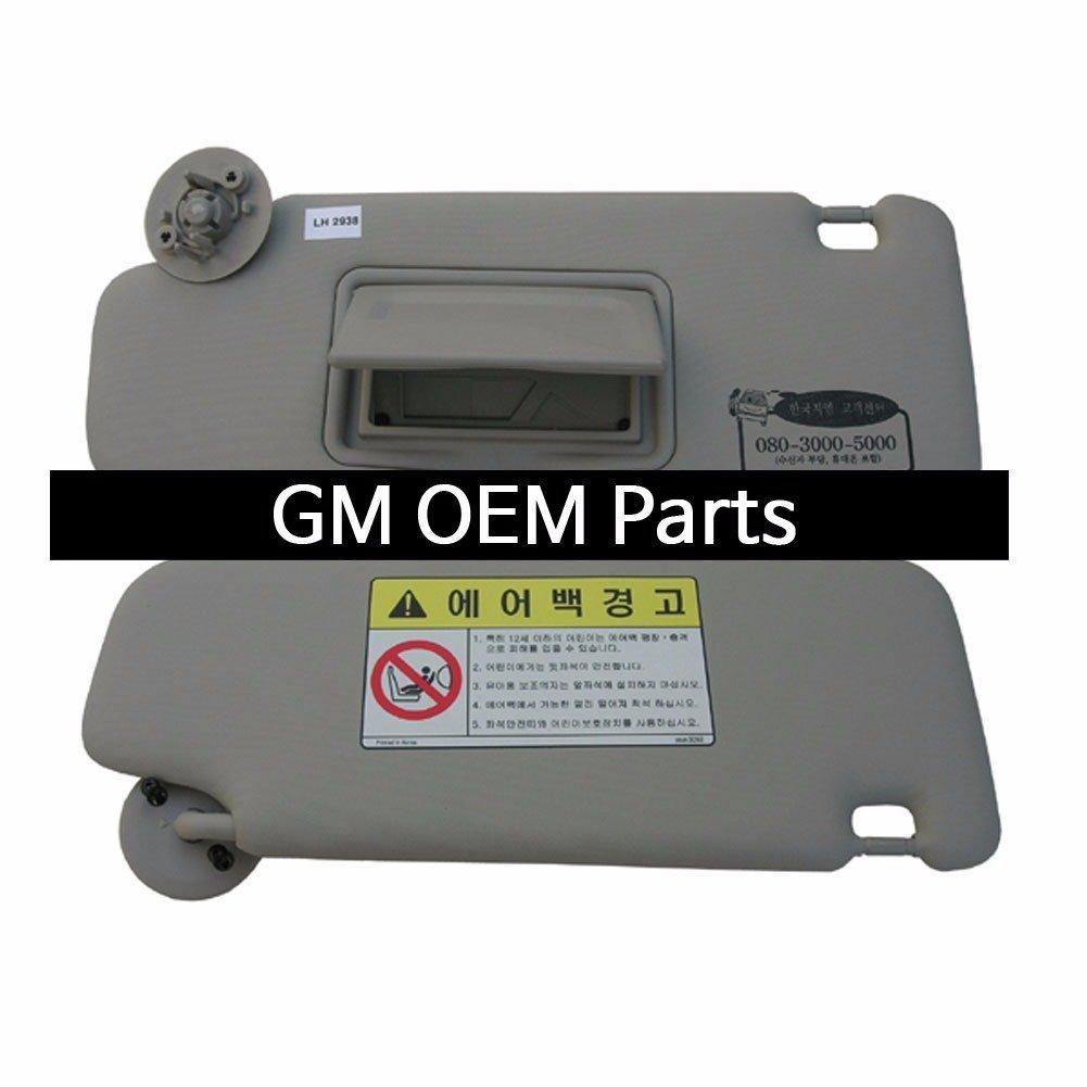OEM Parts Chevrolet Interior Inside Sun Visor Shade LH Gray for GM Sonic 2012