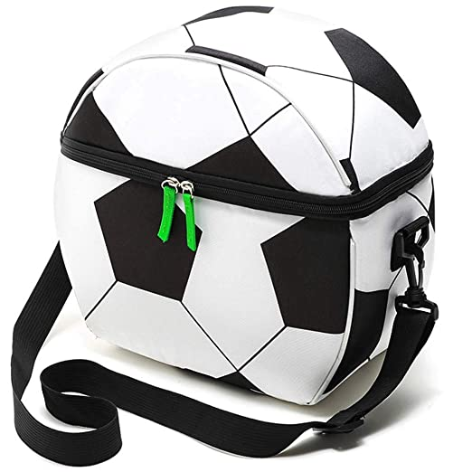 CAOLATOR. Bolsas de Almuerzo con Forma de fútbol Bolsa de ...