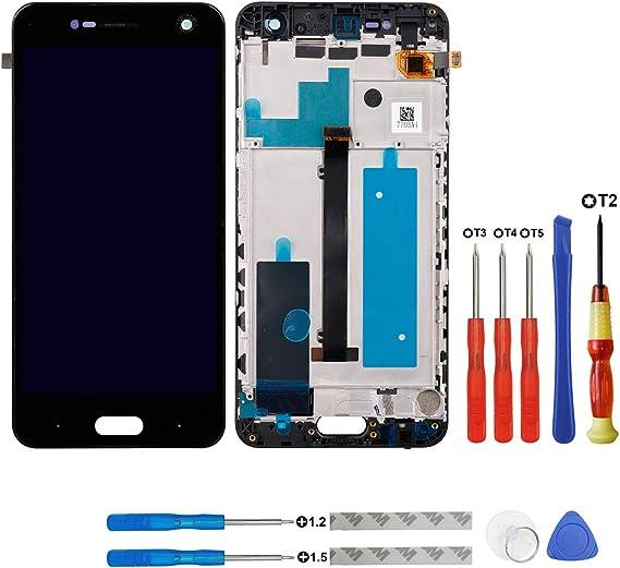 swark LCD Pantalla para ZTE Blade V8 Smartphone sin Marco + ...