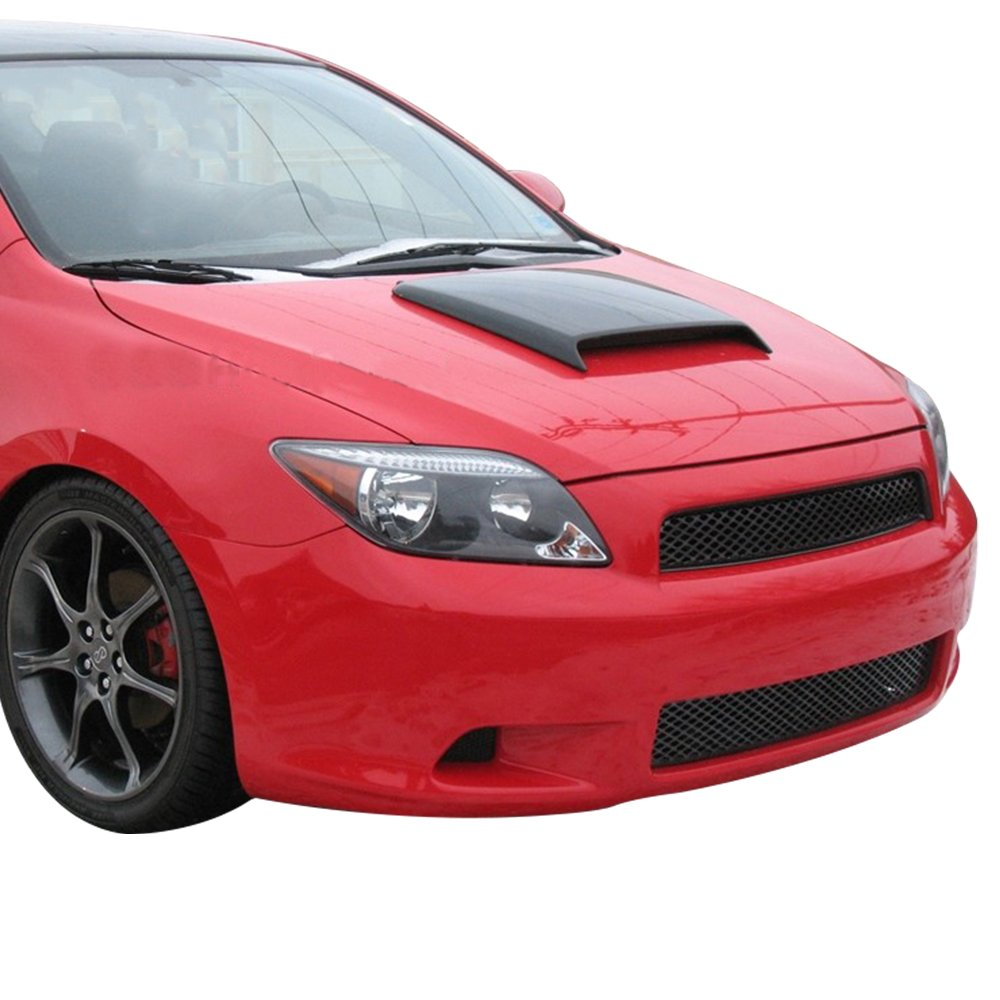 Universal Fitment ABS Air Flow Hood Vent Scoop Bonnet Cover V3 Style 25x32CM by IKON MOTORSPORTS