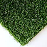 Synturfmats Premium Indoor/Outdoor Artificial Grass Turf for Pets - 3.3'x5' Decorative Synthetic Turf Runner Rugs Carpet