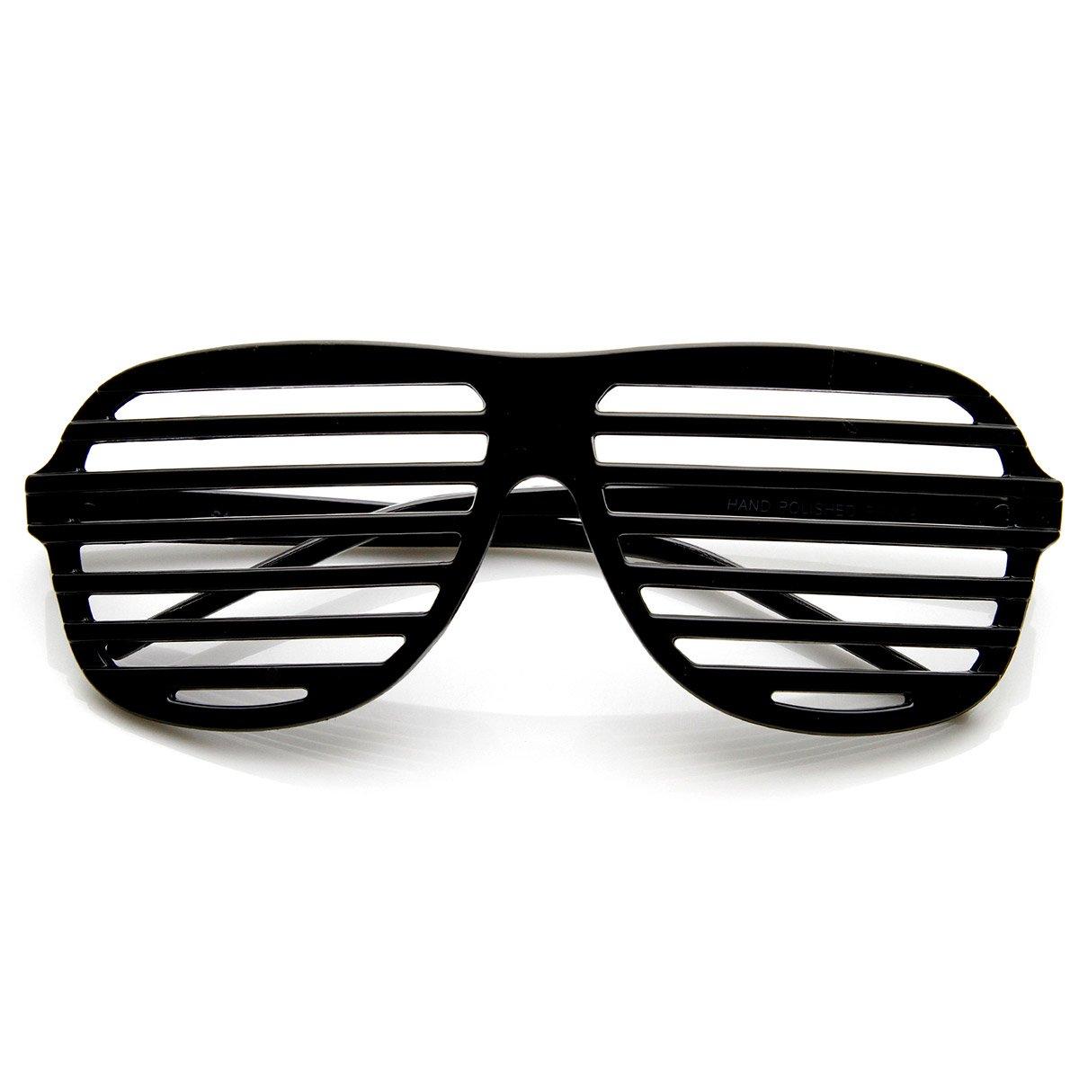 a7063b1752e Shutter Shades Venetian Blind Stronger Kanye Novelty Glasses (Black)   Amazon.ca  Sports   Outdoors