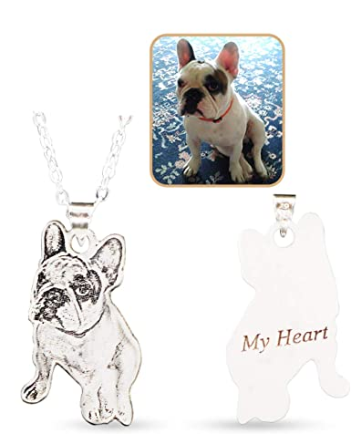Dog lovers I love my dog //Dog person sterling silver chain and pendant Gift box