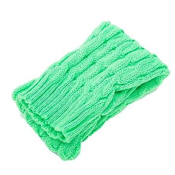 Women Winter Warm Soft Causal Cotton String Knit High Tube Dress Boot Long Socks