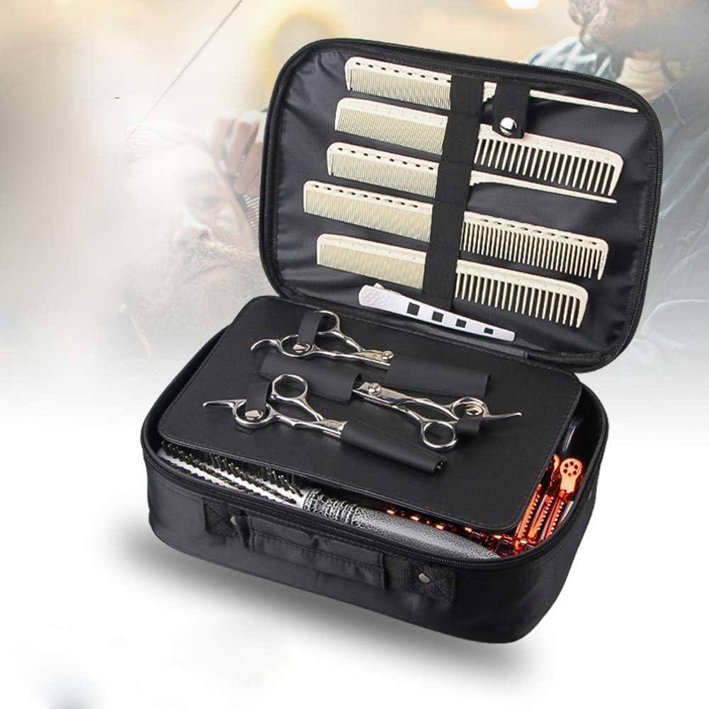 Estuche para tijeras de peluquería con pinzas para el pelo, organizador de tijeras de peluquería: Amazon.es: Salud y cuidado personal