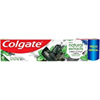 Creme Dental Colgate Natural Extracts Carvão Ativado 140g