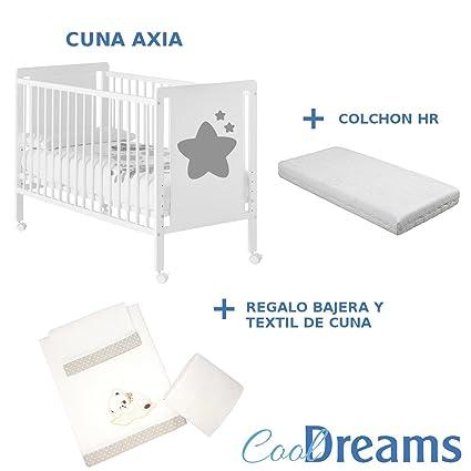 Cuna colecho bebe axia