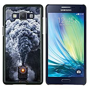 Stuss Case / Funda Carcasa protectora - Tren de humo Rails Retro motor de vapor - Samsung Galaxy A5 ( A5000 ) 2014 Version