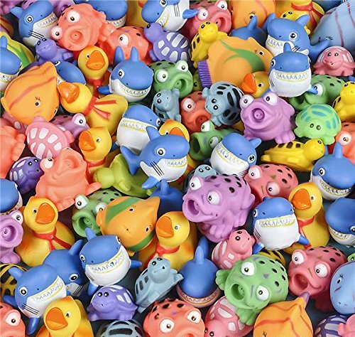 200 PC 3'' SQUIRT TOY ASSORTMENT, Case of 3 by DollarItemDirect (Image #1)