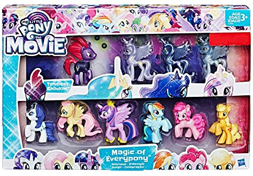 My Little Pony The Movie Magic of Everypony Round up mini figure collection -