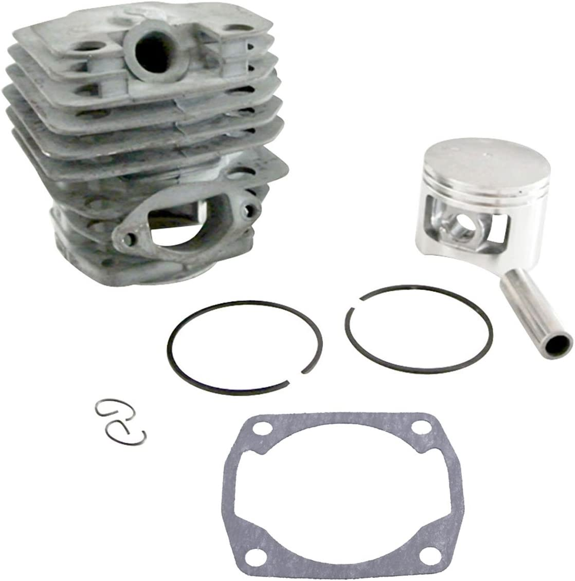 JRL Kit de Pistón cilíndrico para Motores DE 45 mm para Chino 5200 52 CC Motosierra Kiam Silverline
