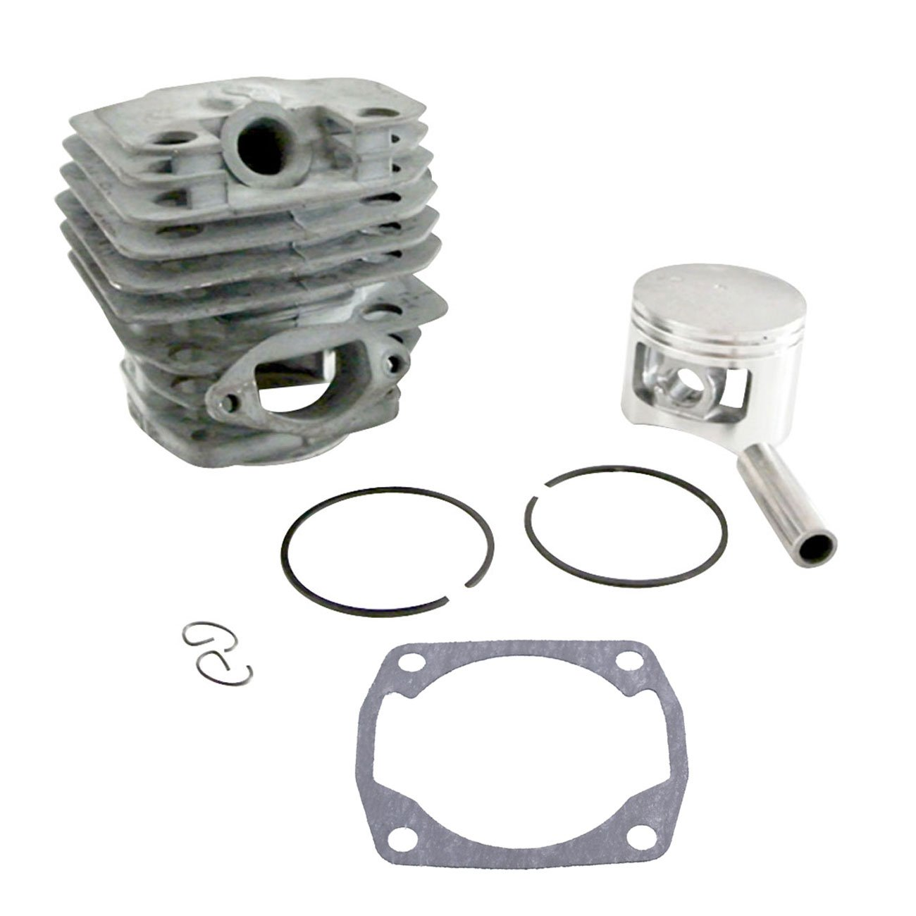 JRL 45mm Cylinder & Piston Kit Fit 52cc Chinese 5200 Chainsaw Tarus Timbertech Huang Machinery