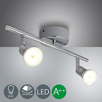 Vingo 2x4w Led Plafonnier Spots Lampe Lampe De Salon Spot De Plafond