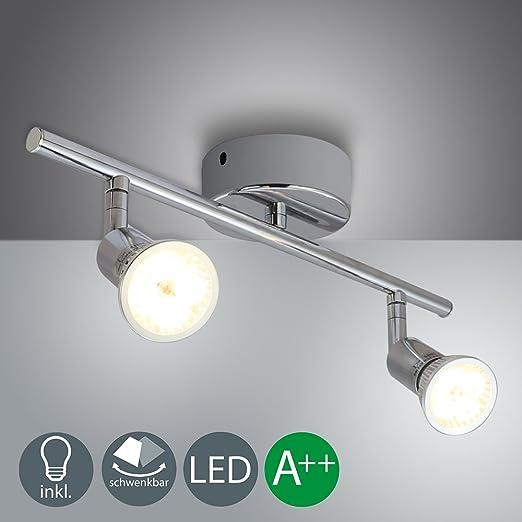 Design LED Wohn Zimmer Leuchten Flur Strahler Decken Lampen Deckenspot drehbar