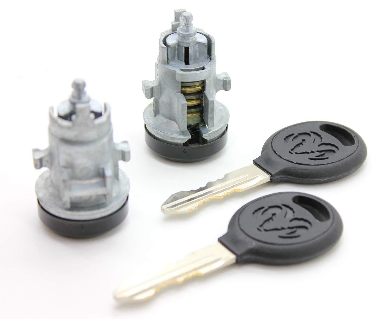 Lock Cylinders LATCHWELL LKC-5070044-01 Door Lock Cylinder Set ...