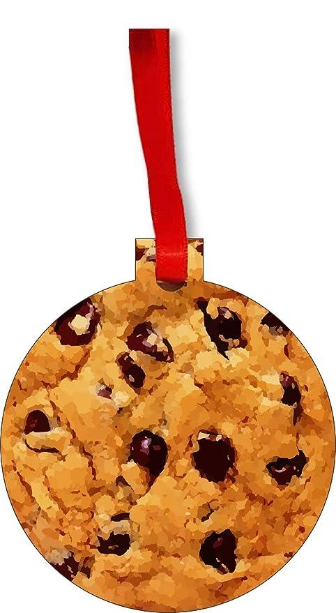 Amazon Com Max Wilder Chocolate Chip Cookie Round Shaped Flat