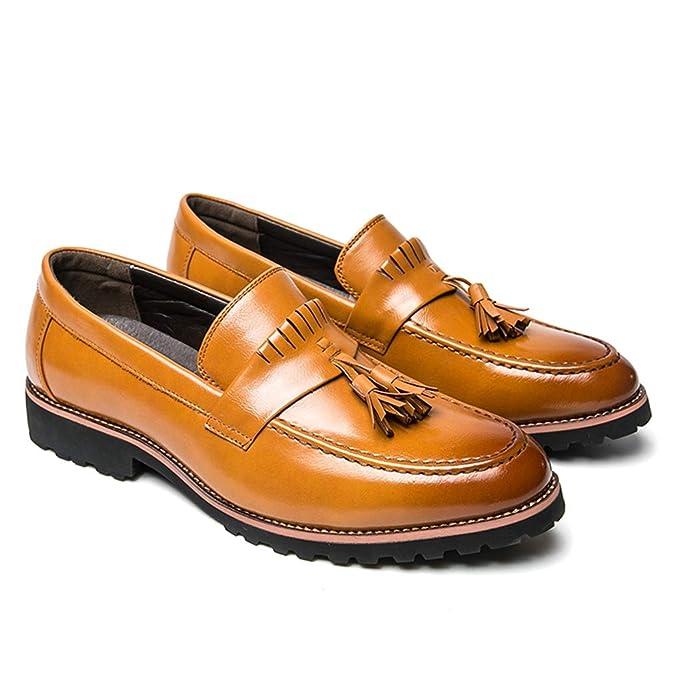 Starttwin - Zapatos de Vestir Formales para Hombre, con ...