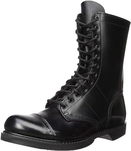 10 Inch Side Zipper Jump Boot-M