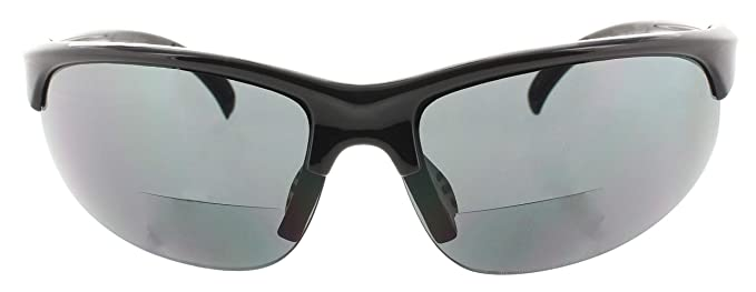 8f93c3e1bc Amazon.com  Fiore 1 Pack Bifocal Sport Wrap Reading Sunglasses Readers for  Men and Women  1.50