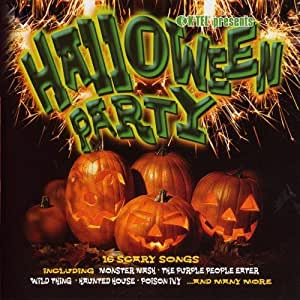 various artists halloween party 16 scary songs