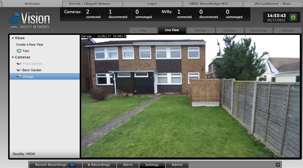 Ubiquiti Aircam H 264 Megapixel Indoor/Outdoor IP Camera (1)