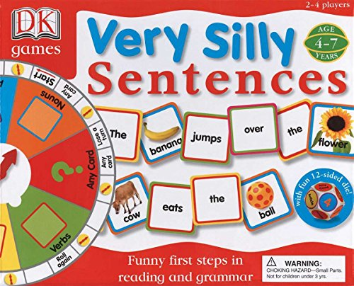 DK Toys & Games: Very Silly Sentences: Funny First Steps in Reading and Grammar]()