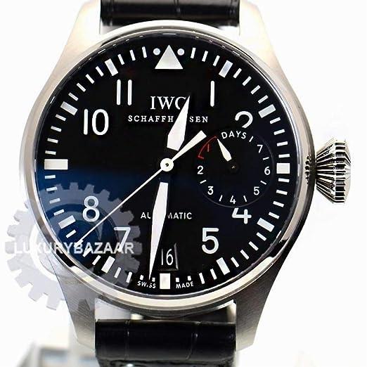 IWC IW500401 Pilot Automatic-Self-Wind - Reloj para Hombre (Certificado de autenticidad