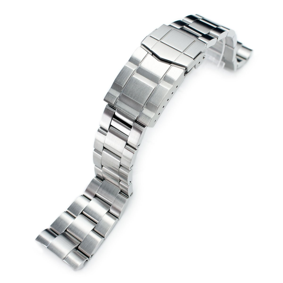 22mm Super 3D Oyster Watch Bracelet for Seiko New Turtles SRP775 SRP777 SRP779, Submariner