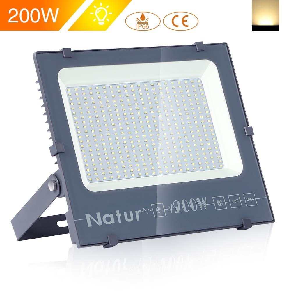 Camino 6000K Blanco Fr/ío para Pared,Patio Jard/ín 150W LED Foco Exterior de alto brillo,15000LM Impermeable IP66 Proyector Foco LED Clase de eficiencia energ/ética A++ Iluminaci/ón de Seguridad