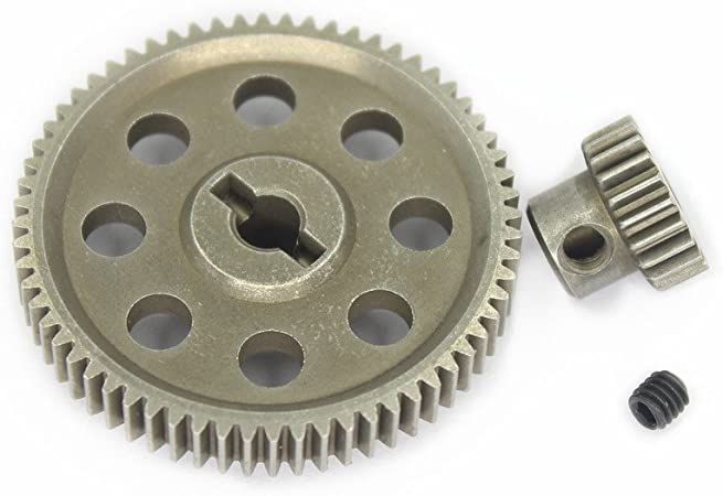 Corally Kronos XP 6S Center Gear Diff Set Differential Steel Spur Gear