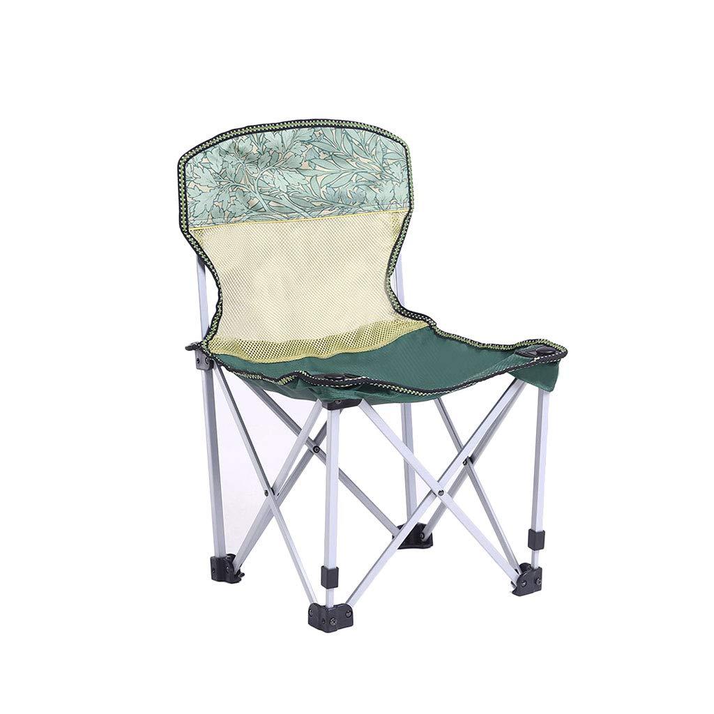 Kaiyu Outdoor Klappstuhl Portable Freizeit Stuhl Angeln Stuhl Camping Barbecue Stuhl Skizze Stuhl 39x42x61 cm