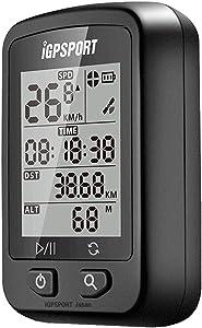 GPS サイコン サイクリングコンピュータ 高度計 充電式 IPX6防水 自動バックライト マウント付き iGPSPORT iGS20E