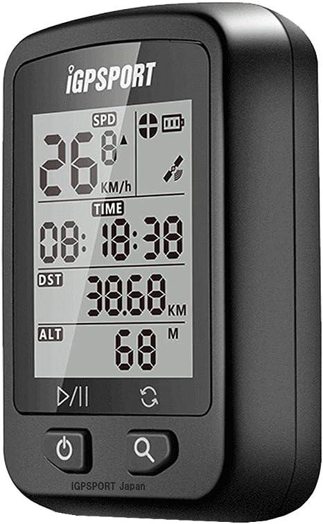 IGPSPORT Ciclocomputador con GPS iGS20E inalámbrico Impermeable Ordenador de Bicicleta: Amazon.es: Deportes y aire libre