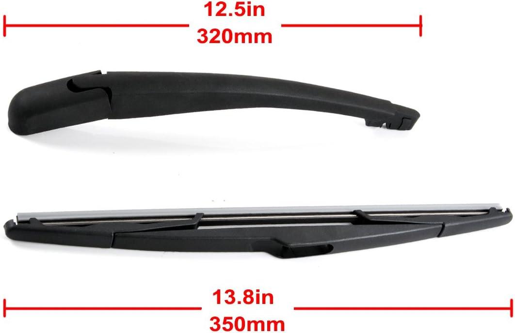 OTUAYAUTO 6429.T8 Rear Wiper Arm and Windscreen Wiper Blade Set