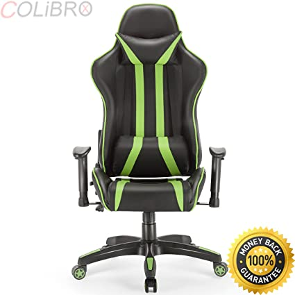 Groovy Amazon Com Colibrox Gaming Chair Racing High Back Evergreenethics Interior Chair Design Evergreenethicsorg