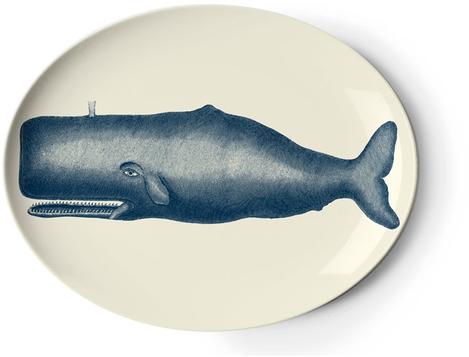 Scrimshaw Whale Tray by thomaspaul - Lekker Home