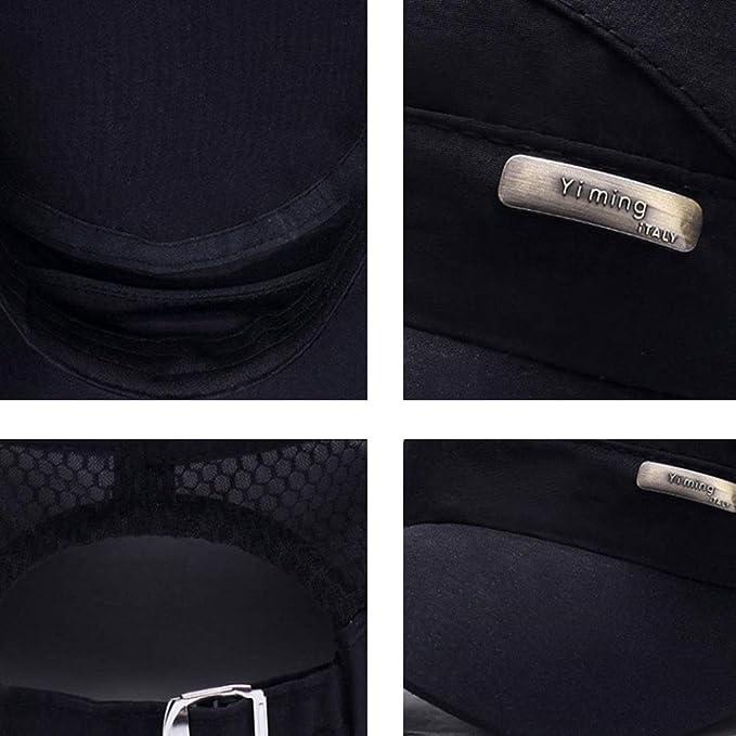 Amazon.com: Gorra de béisbol visera unisex con mezcla de ...