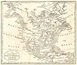 Historic Map | 1790 A General Map of North America from the best Authorities | Morse, Jedediah