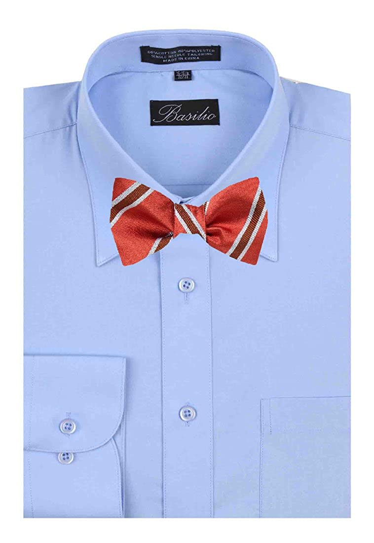 FBTZ-1362 Silk Mens Fashion Self Tie Bow Tie