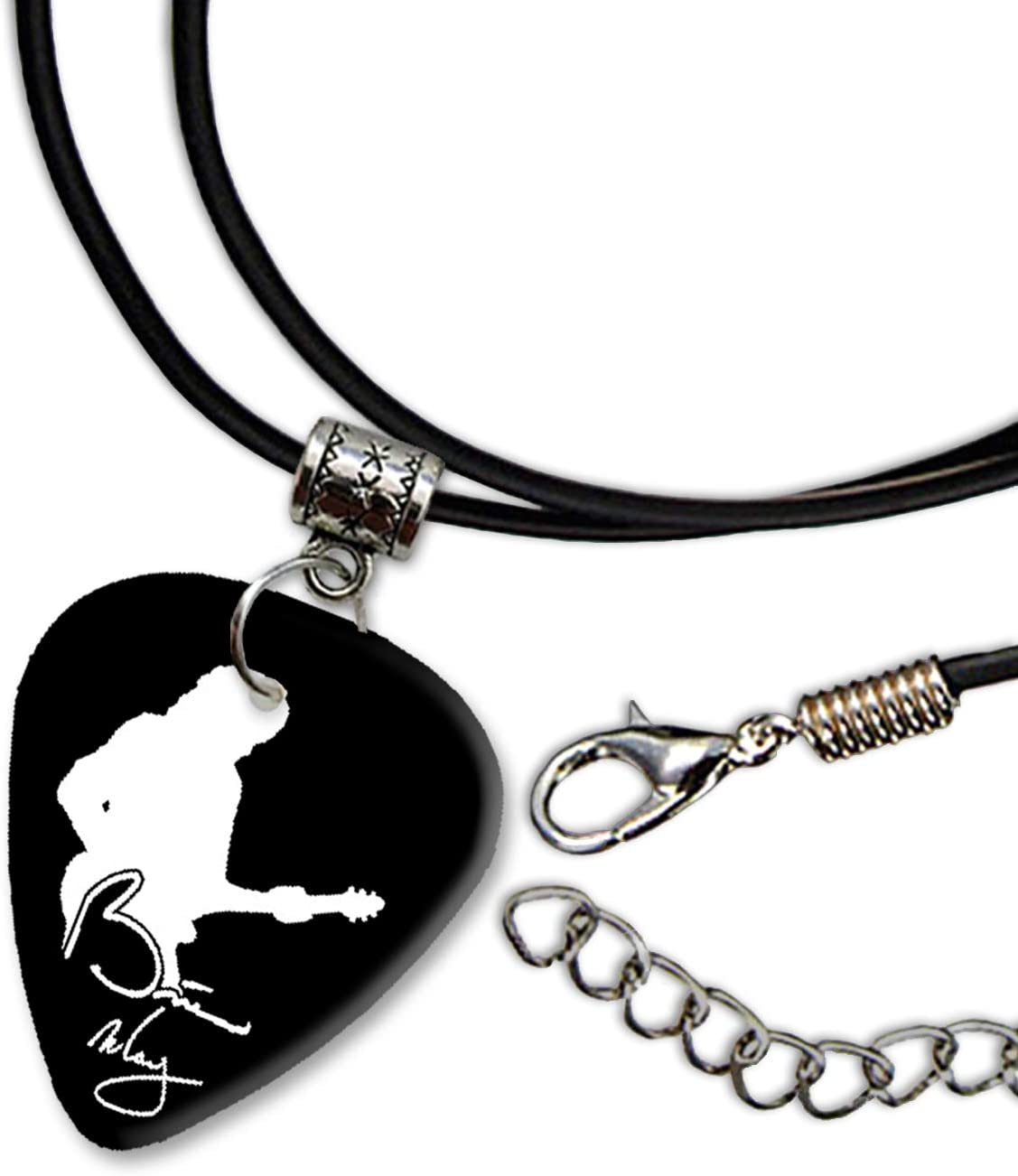 Brian May Queen Diseño 2 Guitarra Plectrum Cord Collar Necklace ...