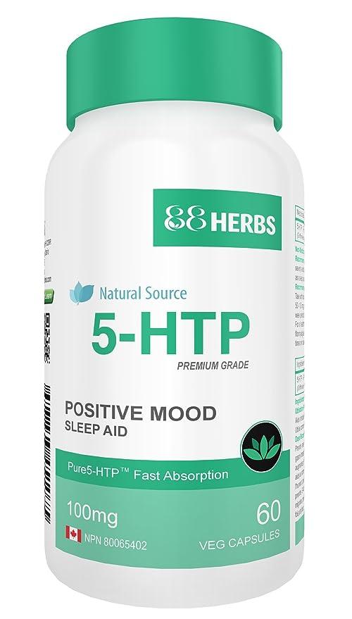 5-HTP - Pureza de Grado Farmacéutico - Origen Natural – Liberación Rápida - Sin