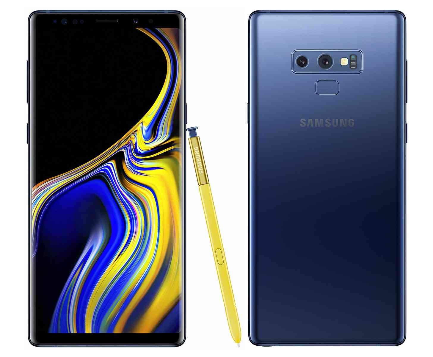Samsung Galaxy Note 9 N960U 128GB T-Mobile GSM Unlocked Phone  (Ocean Blue, 128GB)(Renewed)