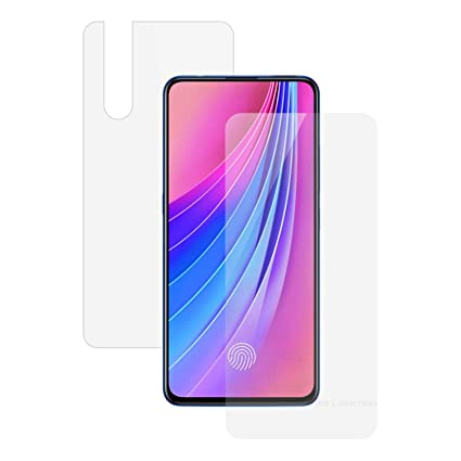Case Creation Front Back Screen Guard for Vivo V15 Pro,360 Degree Clear  Shield Full Body + Scratch Coverage for Vivo V15 Pro (2019)