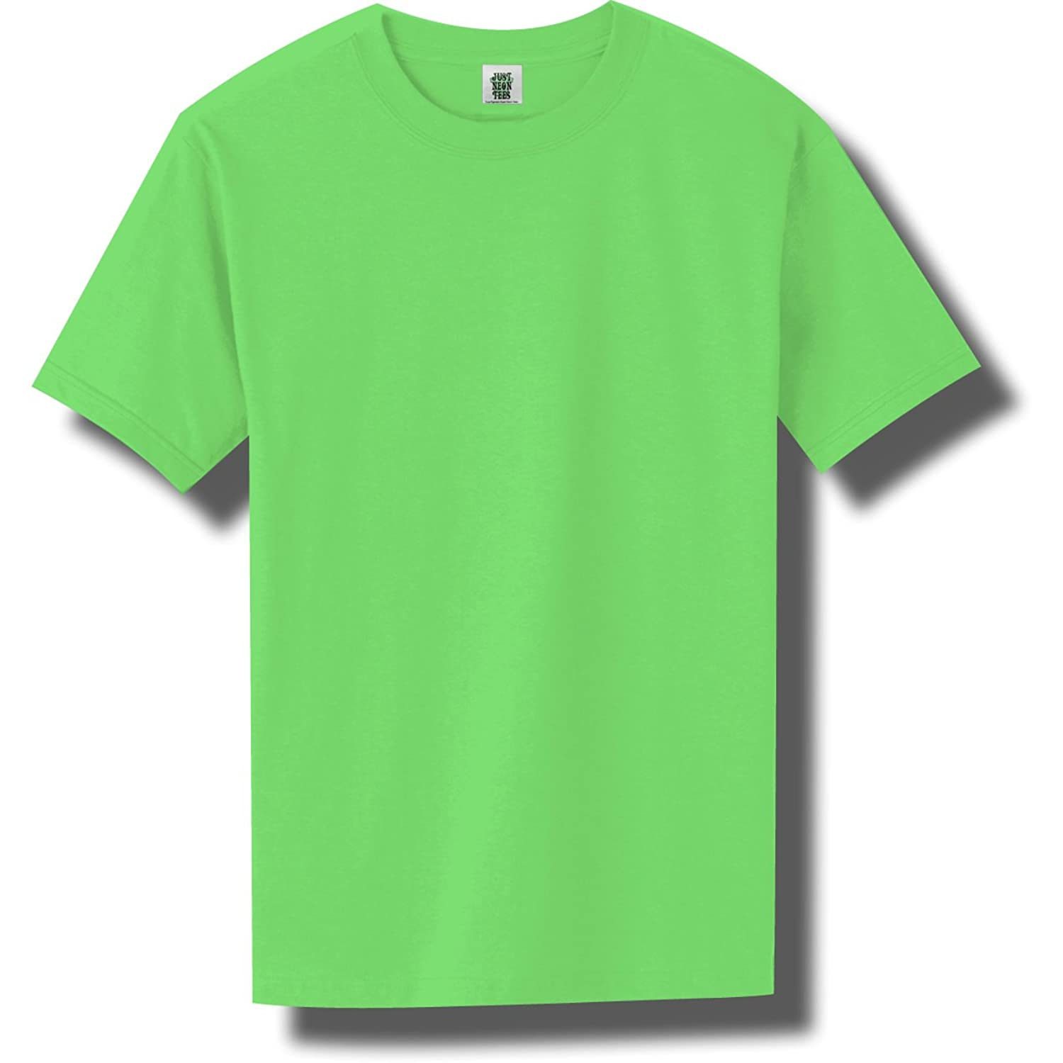 Short Sleeve Bright Neon T-Shirt in 6 Bright Colors well-wreapped ...