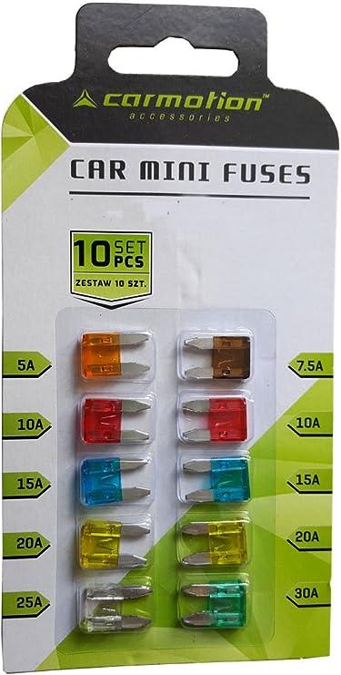 KFZ Mini Sicherungen Flachsicherung SET Sicherung Auto