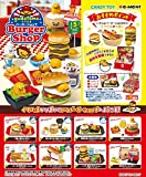 Gudetama Burger shop Re-Ment miniature 8 pieces per BOX