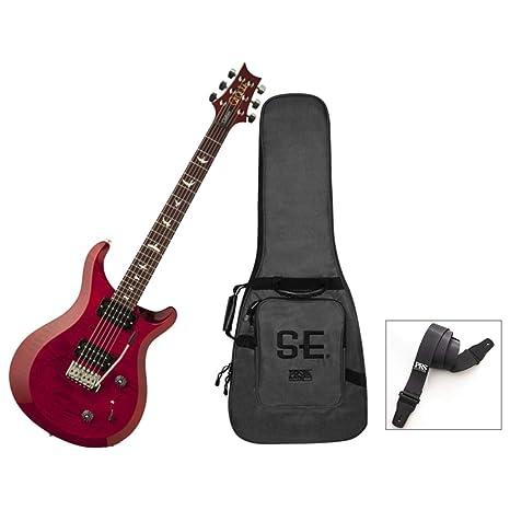 PRS S2 Custom 22 - Guitarra eléctrica con bolsa y correa, color rojo ...