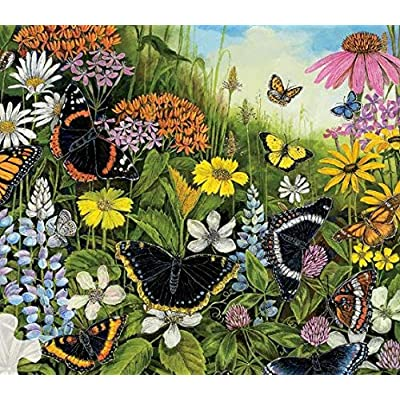 Sandy Williams Butterfly Garden Puzzle - 300Piece: Toys & Games